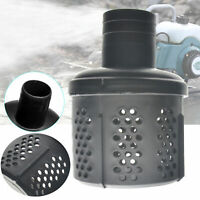 2'' Plastic Strainer Filter Screen for Water Pump Suction Hose Black