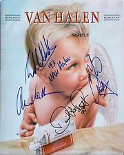 VAN HALEN BAND REPRINT AUTOGRAPHED SIGNED 8X10 PHOTO EDDIE DAVID LEE ROTH RP
