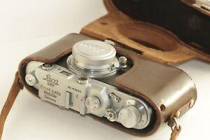 Vintage LEICA I D.R.P. Camera Ernst Leitz Wetzlar Exclusive(zorki copy)