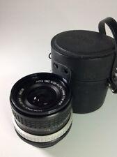 Canon FD fit Hoya SMC 28mm 2.8 Lens