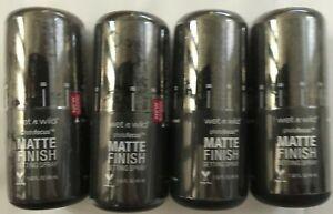 Lot of 4 - Wet n Wild PhotoFocus MATTE FINISH Setting Spray (: FREE SHIPPING:)