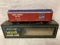 ✅WEAVER DONALD TRUMP BEER WOOD SIDE REEFER NEW FOR LIONEL MTH ATLAS PITTSBURGH