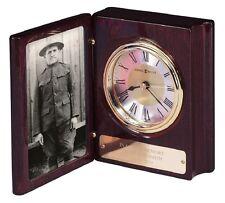 Howard Miller 800-125 (800125) Portrait Book Cremation Urn Desk Clock Keepsake