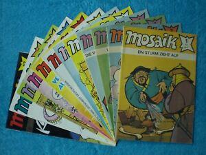 MOSAIK Abrafaxe Jahrgang 1990 komplett Nr. 1-12 Junge Welt DDR RAR Z0-1 OHNE Abo