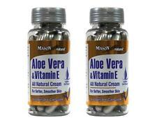 PACK 2 60 BREAKABLE CAPS HEALTHY SKIN VITAMIN E & ALOE VERA FOR SCARS & WRINKLES