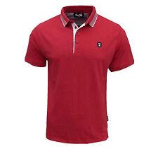 Gio Goi Men's Borax Polo T Shirt Red