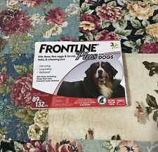 FRONTLINE PLUS for DOGS  89 to 132 lbs. {3} DOSES