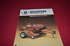 Hesston 4550 Square Baler Dealer's Brochure DCPA2 ver2