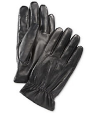 $155 RYAN SEACREST MEN'S BLACK WARM WINTER LEATHER CASUAL DRESS GLOVES SIZE XL