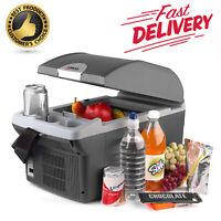 Portable Car Cooler Warmer Electric Mini Fridge Cans Food Truck Boat Storage 14L