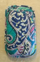 NWT Vera Bradley Double Eye Case Eyeglasses Quilted Cotton in Waikiki Paisley