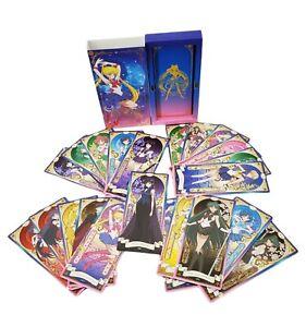 Rare Sailor Moon Crystal Season III 3 Tarot Card Deck 25th Anniv. Toei Animation