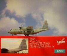 Herpa Wings 1:500 Lockheed C -130 Hercules us. air Force 530651 modellairport 500