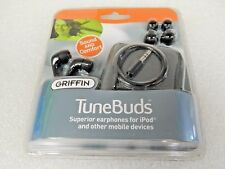 Griffin TuneBuds Noise Isolating In-Ear Phones-Black 9401-TUNBDSB