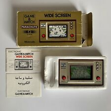 Vintage Nintendo Parachute Game & Watch with Box + Instructions