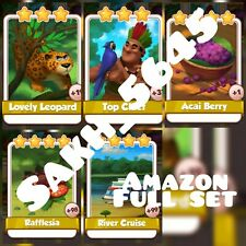 Amazonas Full Card New Set (  Fast Sending  ) :- Coin Master Cards