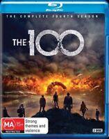 The 100 : Season 4 (Blu-ray, 3-Disc Set) NEW