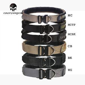 Emerson Cobra Riggers Belt D-Ring Molle 1.75-2inch Combat Tactical Belt 9342