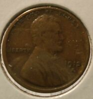 1913 S LINCOLN CENT VF