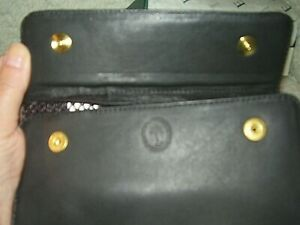 NEW Levenger Black Traveler Pocket portfolio/Wallet/NIB