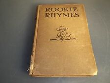 Rookie Rhymes 1st and 2nd Provisional Training Regiments 1917