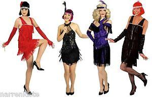 20er 30er Jahre Kleid Kostüm Flapper Charleston Damen Charlestonkostüm Fransen