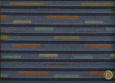 Designtex Drivein Bluebird Blue Abstract Contemporary Geometri Upholstery Fabric
