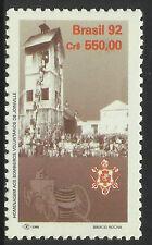 BRAZIL 1992 FIRE SERVICE ANNIV 1v MNH
