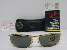 New Vintage B&L Ray Ban Olympian I Deluxe Gold G-15 L0255 Easy Rider Biker USA
