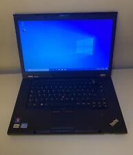 Lenovo ThinkPad t530 15,6 in i5/250 Go SSD/4 Go RAM-bien! z849