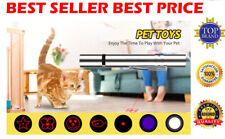 7 in1 USB Charging LED Laser Pointer Red UV Torch Flashlight Pen Cat  Dog Chase