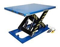 """BigBlue Electric Hydraulic Scissor Lift Table 48"""" x68"""" x40inch 8000lb 4Ton 110V"""