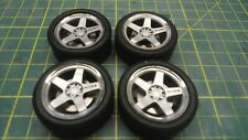 1/18 AUTOart Nismo wheel set with tyres and brake rotors (No calipers)