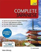 Complete Japanese Beginner to Intermediate Book and Audio Course: Learn to Read, Write, Speak and Understand a New Language with Teach Yourself by Helen Gilhooly (Mixed media product, 2016)
