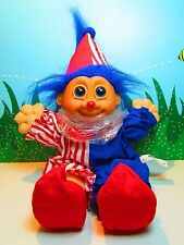 """BO-BO THE CLOWN - 9"""" Russ Wee Troll Kidz Doll - NEW WITHOUT HANG TAG"""