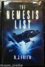 The Nemesis List Signed by R. J. Firth 1st Edition Hardback 9780230748910