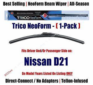 (Qty 1) Super-Premium NeoForm Wiper Blade fits 1986-1994 Nissan D21 16190