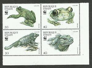 HAITI - WWF, MI # 1588/91, MNH, VF