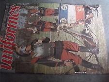 $$s Revue uniformes N°64 Insignes britanniques  Grunwald 1410  Paras fr SAS Indo