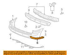 Chevrolet GM OEM 97-05 Venture Rear Bumper-Cover Molding Right 10339931
