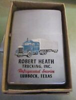 Vintage 1971 BIG RIG TRUCKING Truck  ZIPPO Lighter. EXCELLENT CONDITION for .