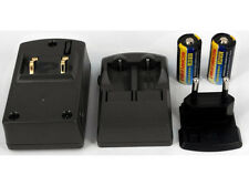 Ladegerät für PANASONIC 123, 123A, BR-2/3A, CR123A, CR123R, CR17335, CR17345, DL