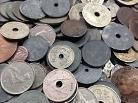 100 Gramm Restmünzen/Umlaufmünzen Belgien