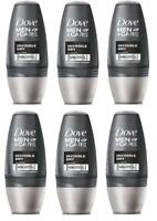 Dove Men Care Invisible Dry Roll On Deodorant Antiperspirant Men 6 Pack x 50ml