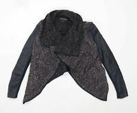 River Island Womens Size 6 Textured Grey Cardigan (Regular)