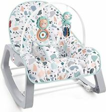Fisher-Price Infant-to-Toddler Rocker - Pacific Pebble, Portable Baby Seat, Mult