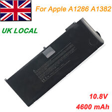 "Laptop Battery for Apple MacBook Pro Unibody 15"" inch i7 A1286 A1382  Early 2011"
