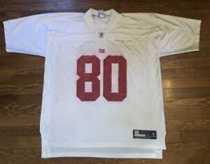 Victor Cruz White New York Giants #80 Reebok NFL Football Jersey Men's XL