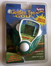 TIGER Golden Tee Golf Electronic Handheld Game New & Sealed 1999