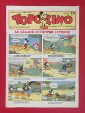 Walt Disney TOPOLINO GIORNALE n.137/1935 Ristampa ANASTATICA (1985) Fumetto